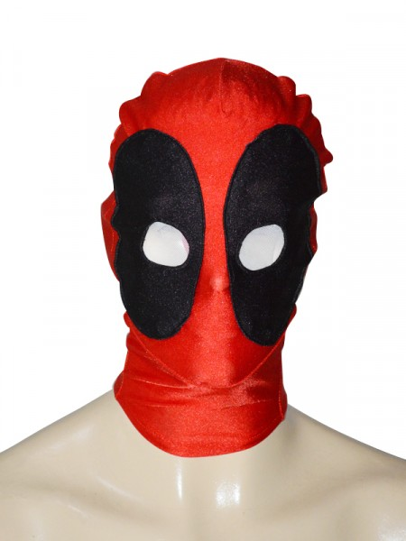 Classic Round Eyes Deadpool Spandex Superhero Hood