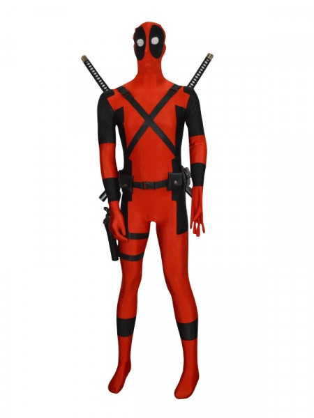 Deadpool Superhero Cosplay Accessories Full Set