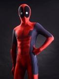 3D printing deadpool costume muscles shade morph fullbody suit
