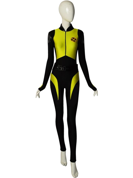 Deadpool 2  Traje de Spandex de Negasonic Teenage Warhead V2 Cosplay