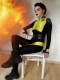 Negasonic Teenage Warhead V3 Deadpool 2 Spandex Superhero Costume