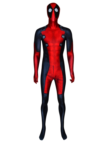 Marvel Future Fight Deadpool Costume MarvelNow Deadpool Printed Costume