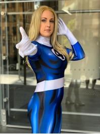 Invisible Woman Costume Fantastic Four Female Costume
