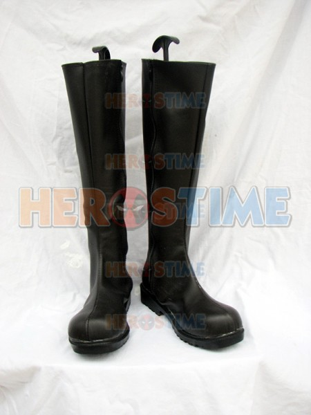 Fantastic Four Mens' Black Superhero Boots
