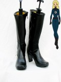 Marvel Comics Invisible Woman Superhero Boots