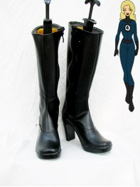 Invisible Woman Superhero Boots