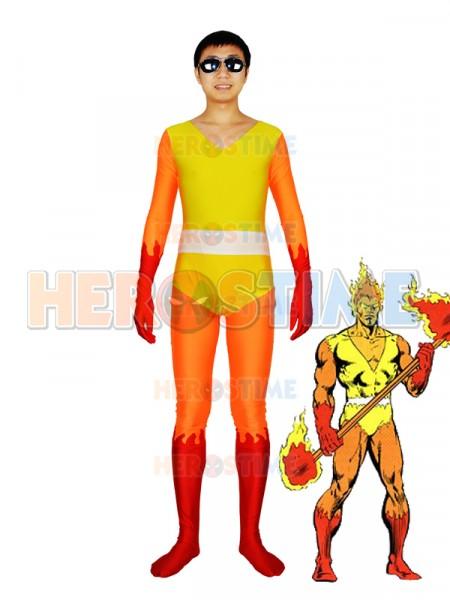 Firelord Spandex Superhero Costume