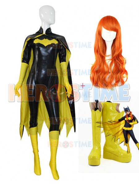 Batgirl Barbara Gordon Cosplay Full Set