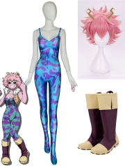 My Hero Academia Ashido Mina Cosplay Full Set