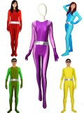 2019 Newest Totally Spies Spandex Superhero Cosplay Full Set