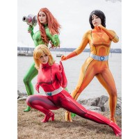 Totally Spies DyeSub Printing Cosplay Full Set