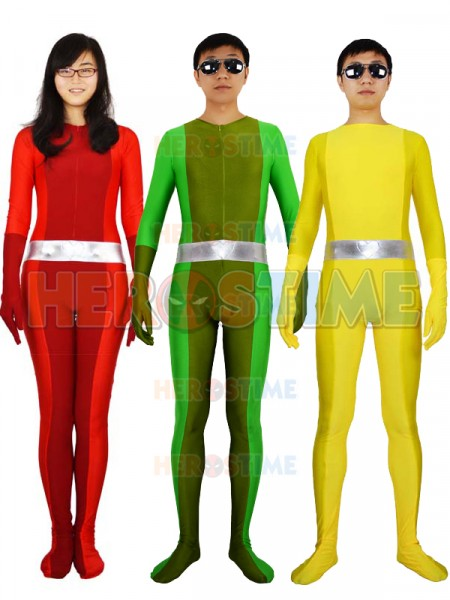 Traje Completo de Totally Spies de Spandex  Cosplay