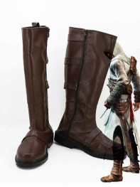 Assassins Creed Cosplay Altair Ibn-La'Ahad Cosplay Boots