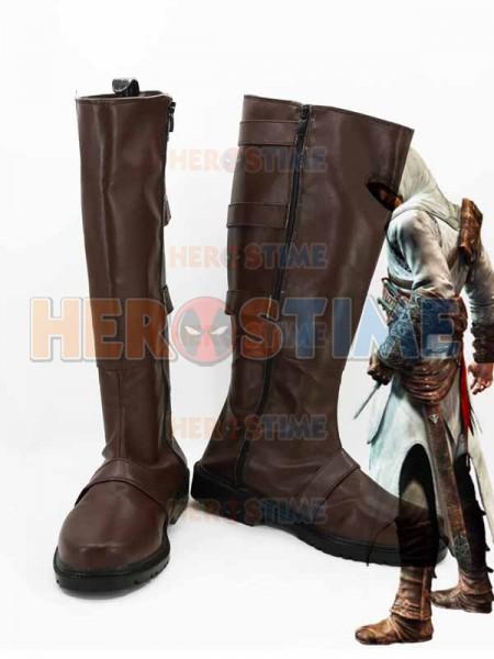 Assassins Creed  Botas de Altair Ibn-La'Ahad Cosplay