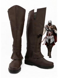 Assassin's Creed Ezio Auditore da Firenze Cosplay Boots