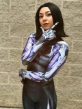 Disfraz de Battle Angel Alita 3D Impresión Cosplay