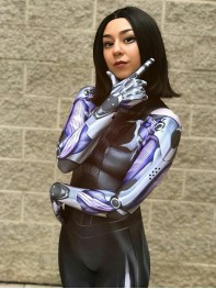 Battle Angel Alita 3D Printing Cosplay Costume