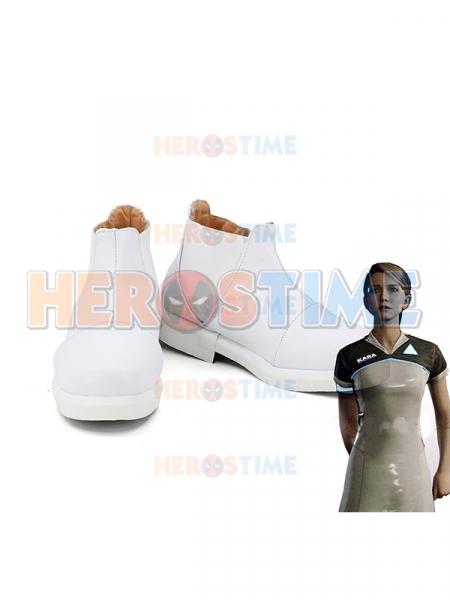 Detroit Become human Kara Game Cosplay Boots
