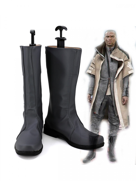 Detroit Become human Markus Game Cosplay Boots