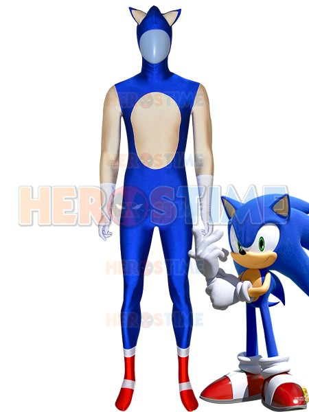 Sonic The Hedgehog Costume Halloween Cosplay Costume