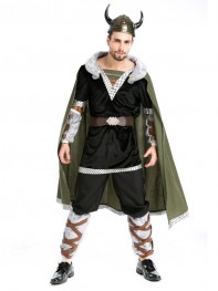 2017 Vikings Adult Gladiator Halloween Fancy Show Costume