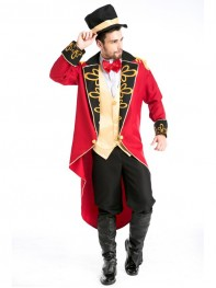 Adult Deluxe Mens Count Magician Halloween Cosplay Costume