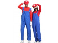 Adult Mario And Luigi Costumes Super Mario Bros/Brothers Halloween Costume