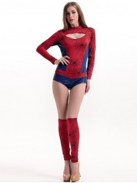 2017 Fashion Spider-man Sexy Girls Dancing Halloween Costume