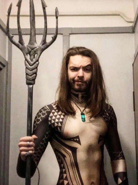 2018 Aquaman Movie Version Tattoo Cosplay Shirt
