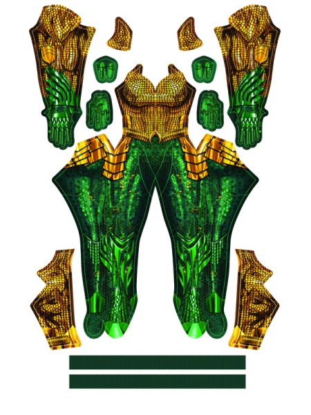 Aquaman Film Suit Aquaman Female Shade Cosplay Costume