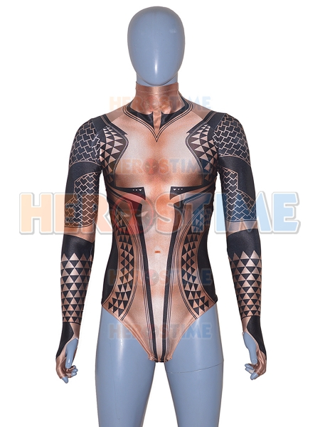 Aquaman Movie Version Aquaman Cosplay Costume