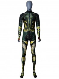 Justice League Aquaman Printing Superhero Cosplay Costume
