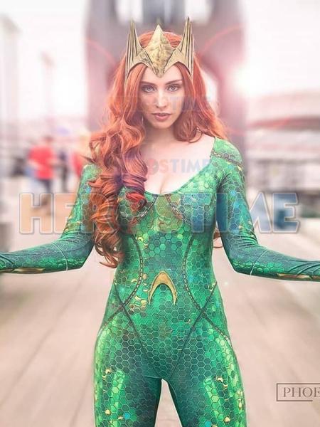 Disfraz de Mera de Aquaman de Versión Cinematográfica