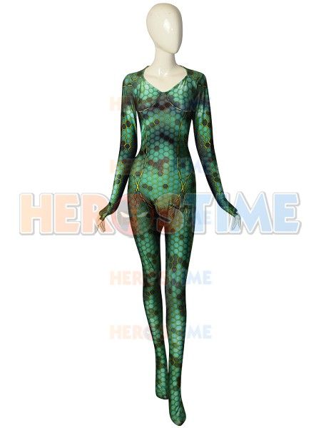 Mera Suit 2018 Aquaman Movie Mera Cosplay Costume