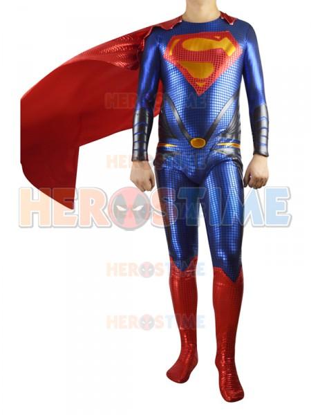 2013 El Hombre de Acero  Traje de Superman Cosplay