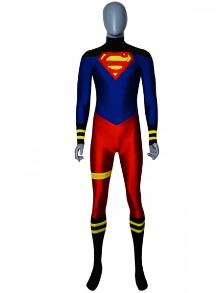 Custom Made Superboy Spandex Superhero Costume