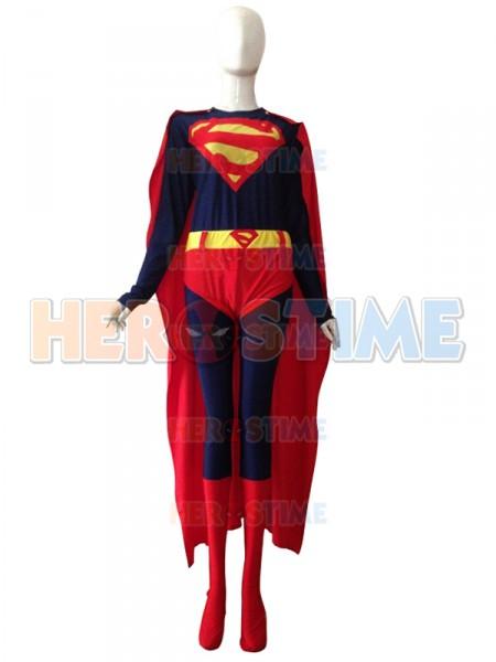 2014 Estilo Nuevo  Traje de Spandex de Superman