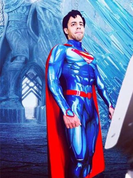 Superman Costume New 52 Version Superman Cosplay Costume