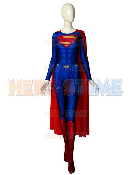 El Hombre de Acero  Traje de Superman con Capa