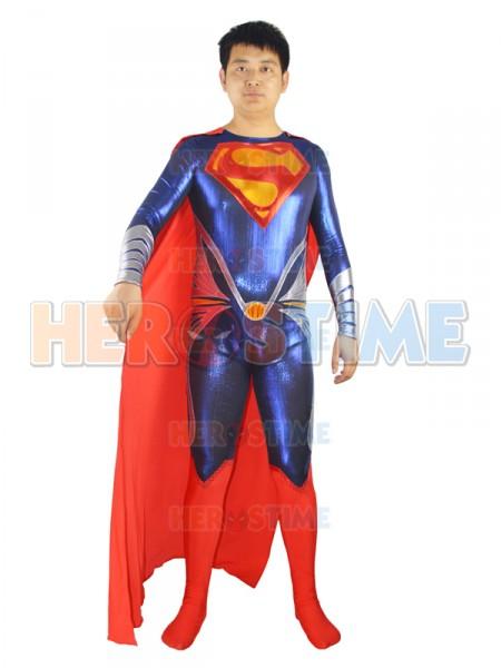 2013 Man Of Steel Superman Costume
