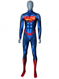 Superman Costume Shiny Superman Costume