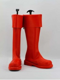 Superman Man of Steel Red Superhero Boots