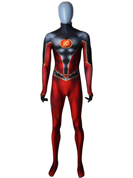 Flash Costume Flash Version Cosplay Costume No Mask