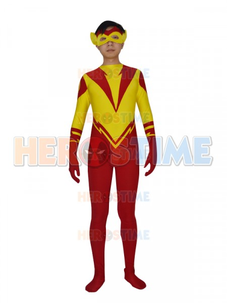Kid Flash Young Justice DC Comics Superhero Costume