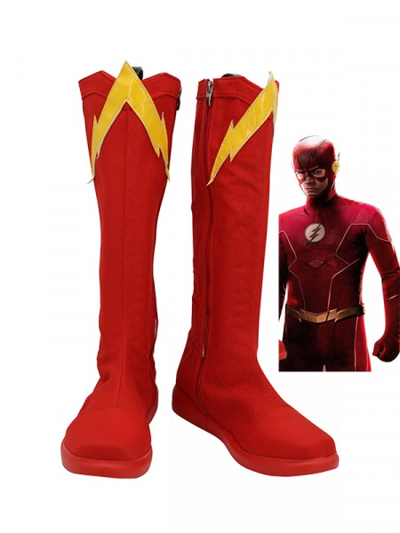 Botas de cosplay de The Flash Season 6 Barry Allen