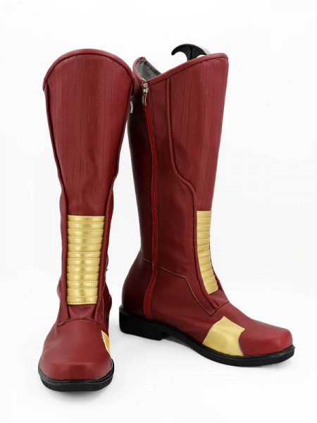 Botas Carmesí de Flash Cosplay