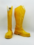 The Flash DC Comics Superhero Cosplay Yellow Boots