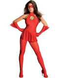 The Flash Female Version Spandex Superhero Costume