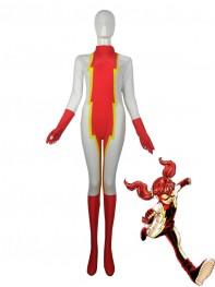 The Flash Iris West Impulse Superhero Spandex Costume