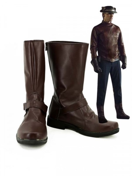 The Flash Season 2  Botas Marrones de Flash Cosplay